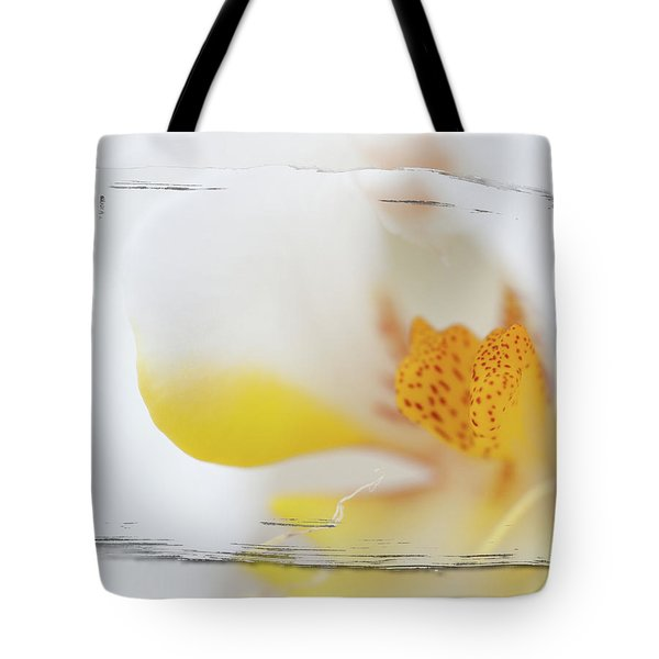 Pure White Tote Bag by Sebastian Musial