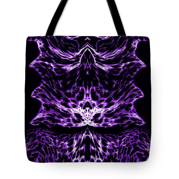 Purple Series 6 Tote Bag by J D Owen
