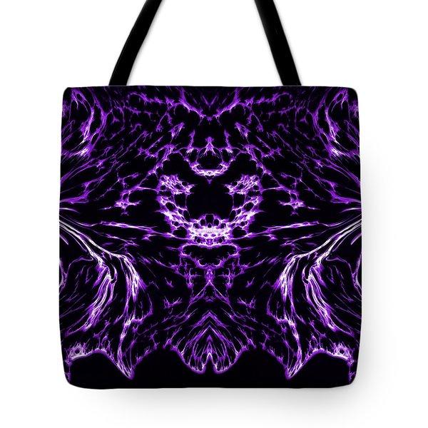 Purple Series 8 Tote Bag by J D Owen