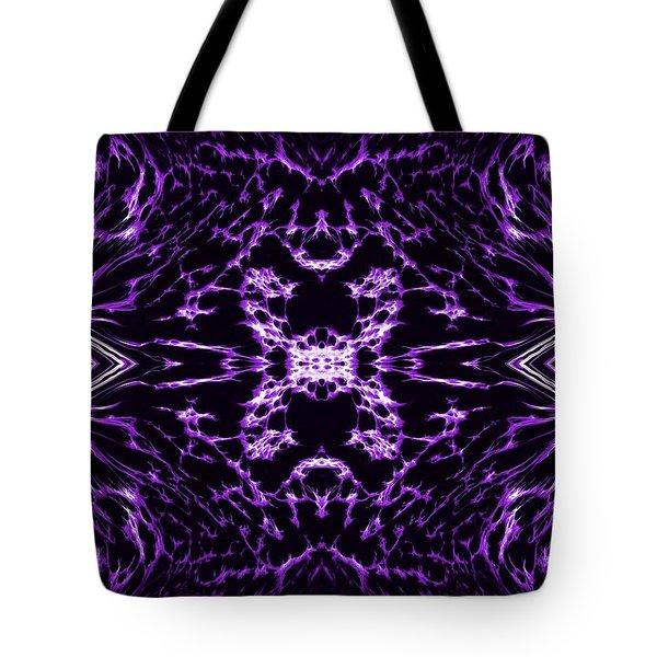 Purple Series 9 Tote Bag by J D Owen