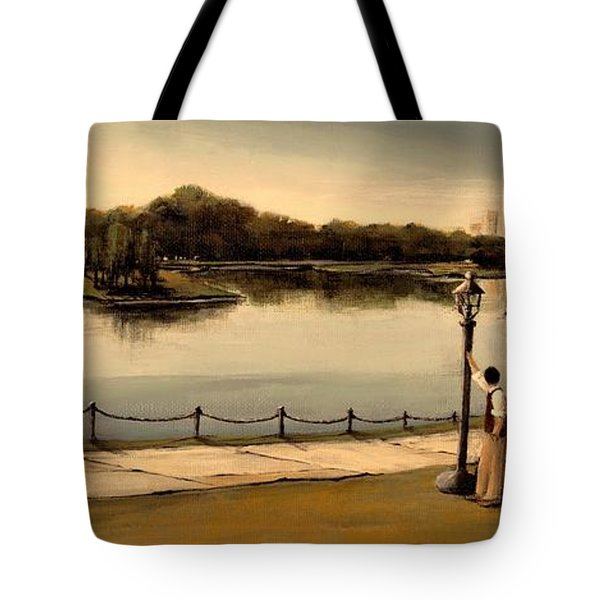 Reflections Tote Bag by Diane Strain