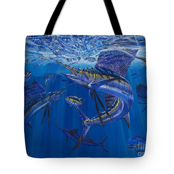 Rendezvous  Tote Bag by Carey Chen