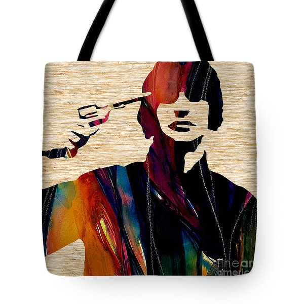 Ringo Starr Collection Tote Bag by Marvin Blaine