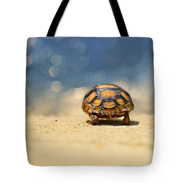 Road Warrior Tote Bag by Laura Fasulo