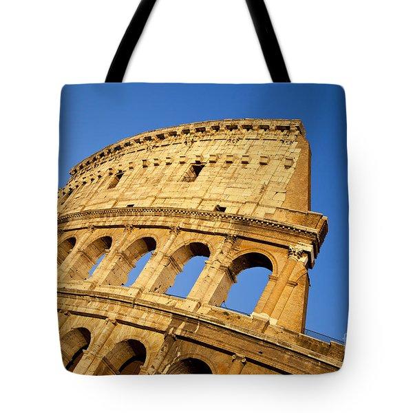 Roman Coliseum Tote Bag by Brian Jannsen