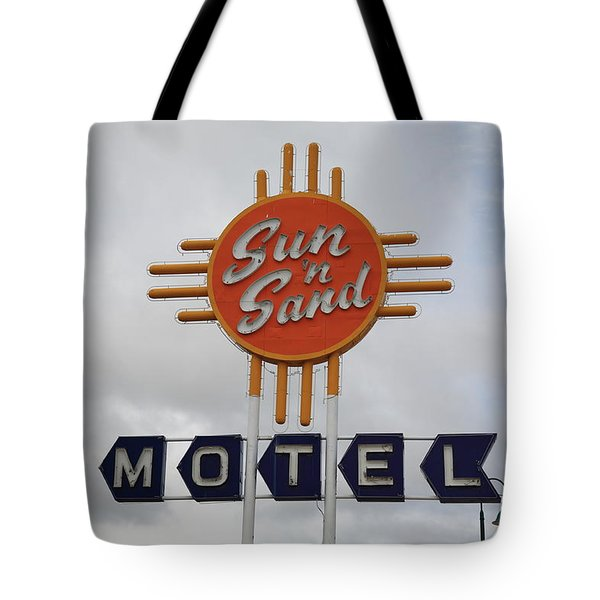 Route 66 - Santa Rosa New Mexico Tote Bag by Frank Romeo