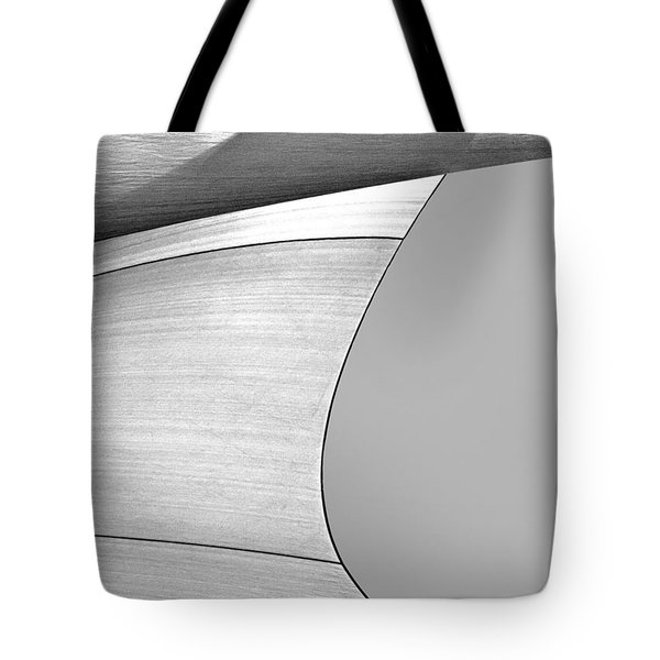 Sailcloth Abstract Number 4 Tote Bag by Bob Orsillo
