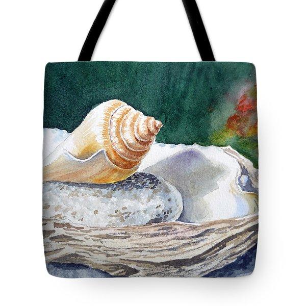 Sea Shells Tote Bag by Irina Sztukowski