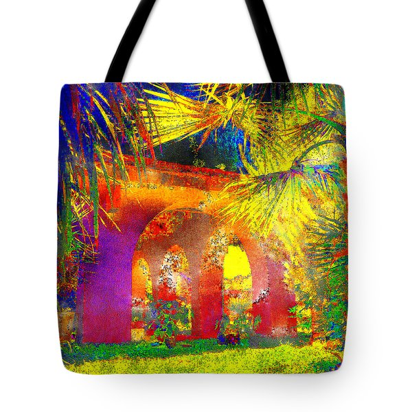Simi Arches Tote Bag by Chuck Staley