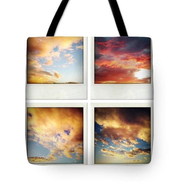 Skies Tote Bag by Les Cunliffe
