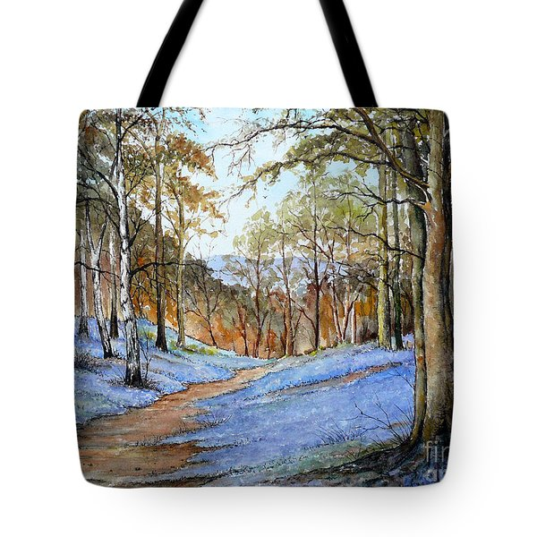 Spring in Wentwood Tote Bag by Andrew Read