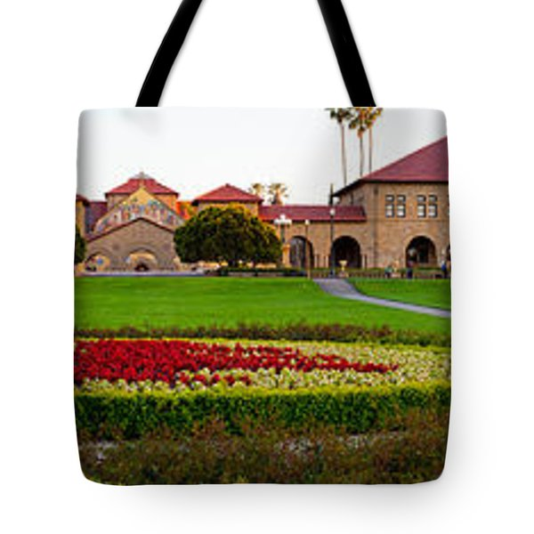 Stanford University Campus, Palo Alto Tote Bag by Panoramic Images