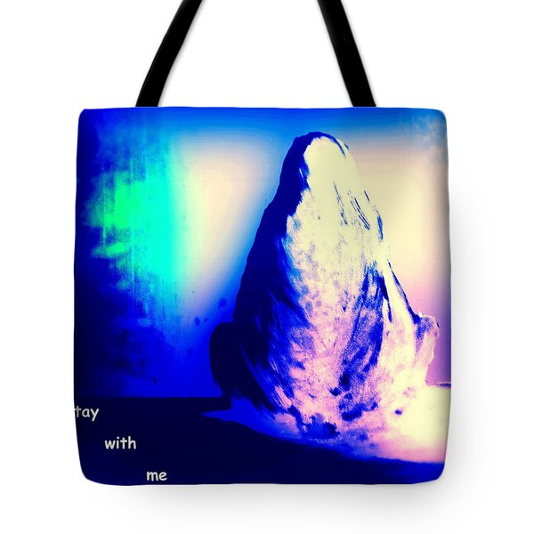 Stay With Me Tote Bag by Hilde Widerberg