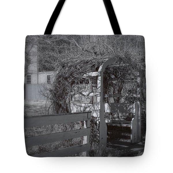 Strawbery Banke  Tote Bag by Joann Vitali