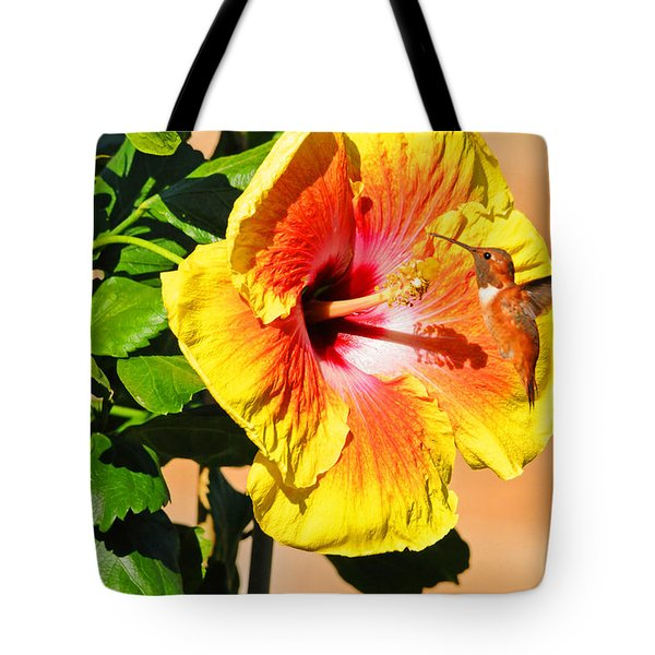 Sunny And Bright Tote Bag by Lynn Bauer