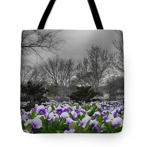 The Color Purple Tote Bag by Douglas Barnard