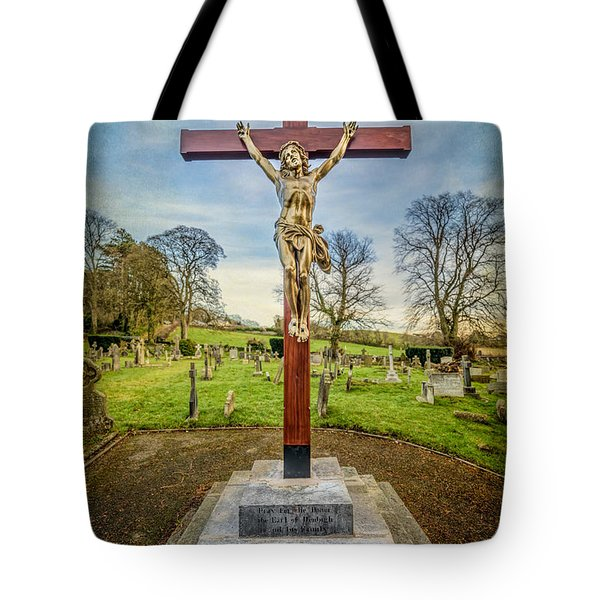 The Cross Tote Bag by Adrian Evans