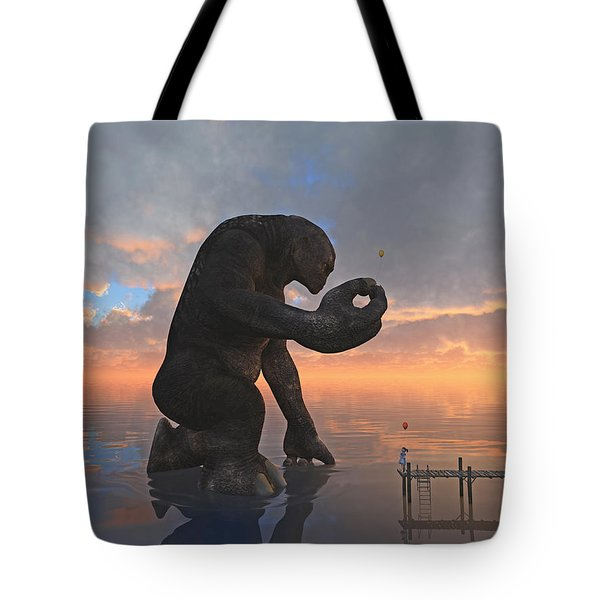 The Gift Tote Bag by Cynthia Decker