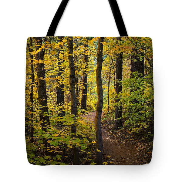 The Magic Forest  Tote Bag by Saija  Lehtonen