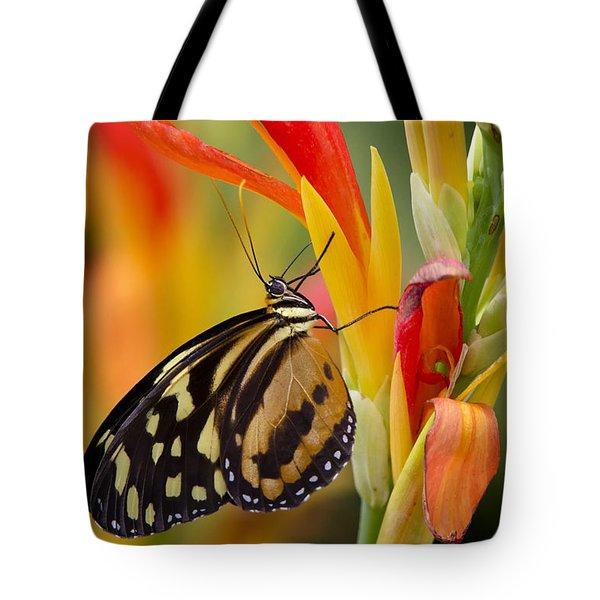 The Postman Butterfly Tote Bag by Saija  Lehtonen