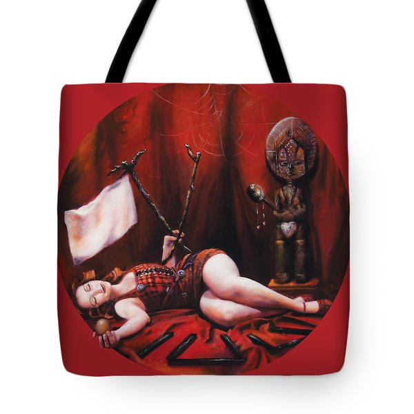 The Protected  Tote Bag by Shelley  Irish