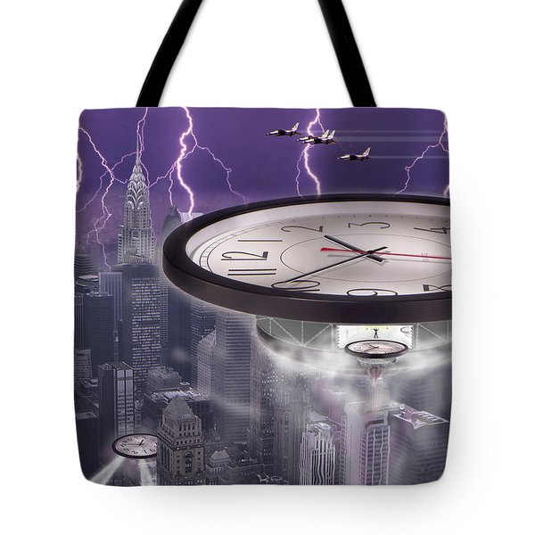 Time Travelers 2 Tote Bag by Mike McGlothlen