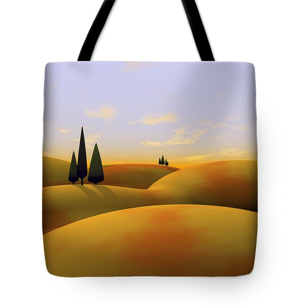 Toscana 3 Tote Bag by Cynthia Decker