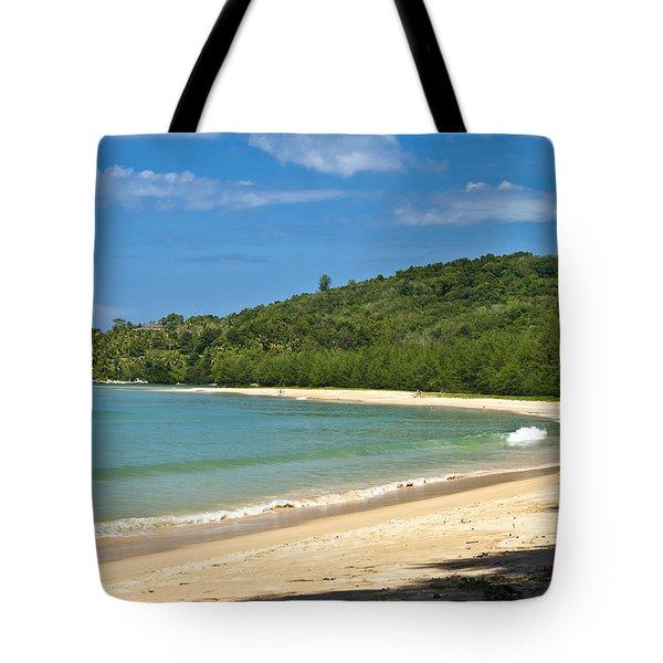 Tropical Paradise Tote Bag by Georgia Fowler
