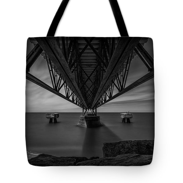 Under The Pier Tote Bag by James Dean