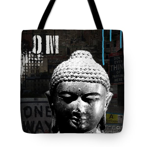 Urban Buddha  Tote Bag by Linda Woods