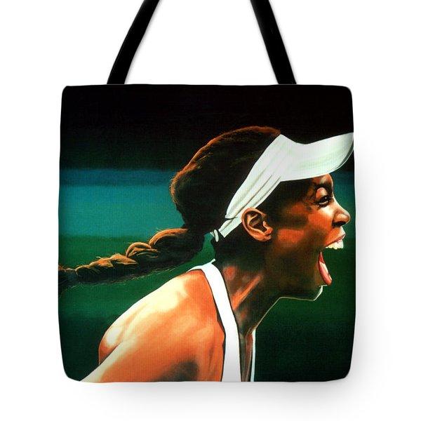 Venus Williams Tote Bag by Paul Meijering