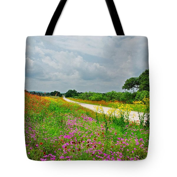 Wildflower Wonderland Tote Bag by Lynn Bauer
