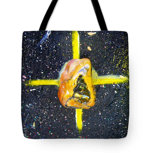 Barack Obama Star Tote Bag by Augusta Stylianou