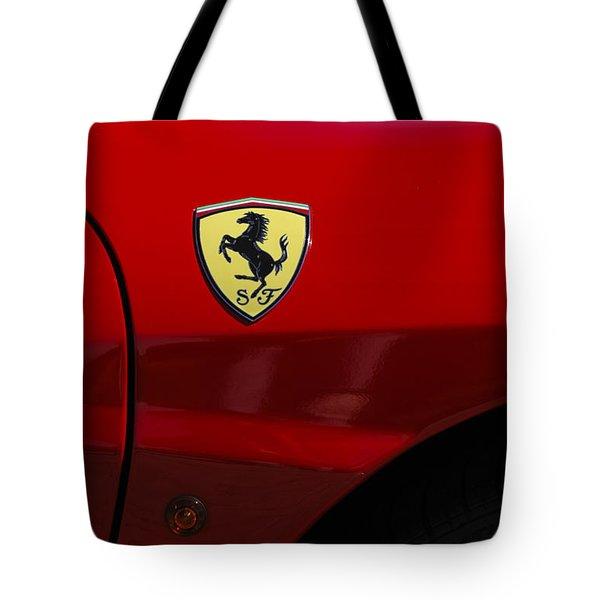 2007 Ferrari F430 Spider F1 Tote Bag by Jill Reger