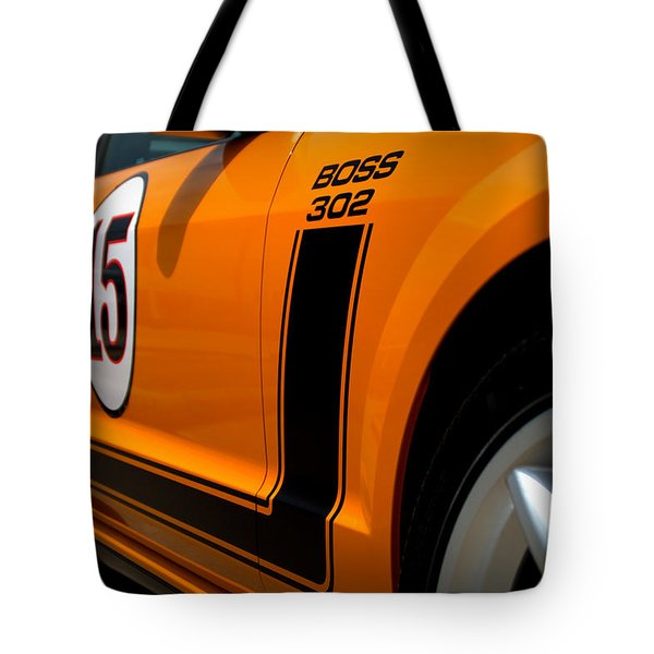 2007 Ford Mustang Saleen Boss 302 Tote Bag by Brian Harig