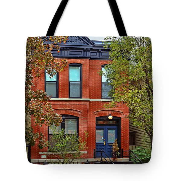 22 W Eugenie St Old Town Chicago Tote Bag by Christine Till