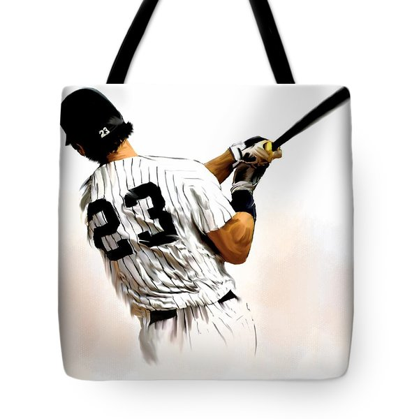 23   Don Mattingly  Tote Bag by Iconic Images Art Gallery David Pucciarelli