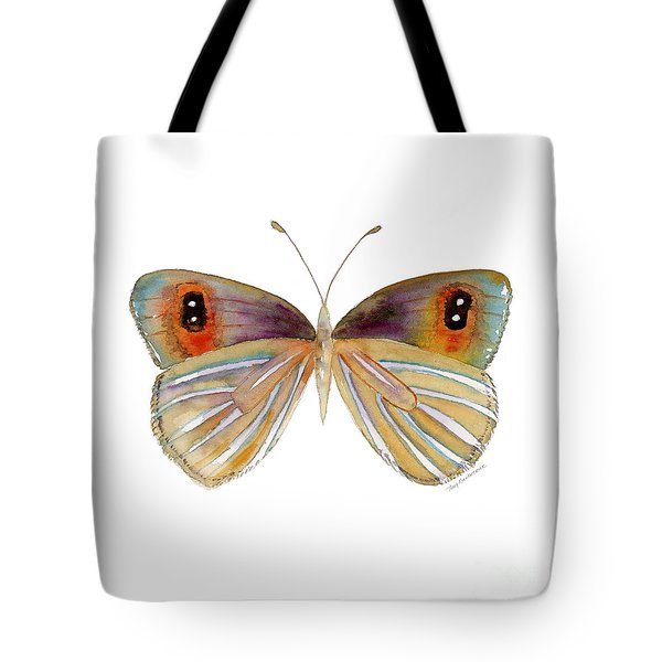 24 Argyrophenga Butterfly Tote Bag by Amy Kirkpatrick