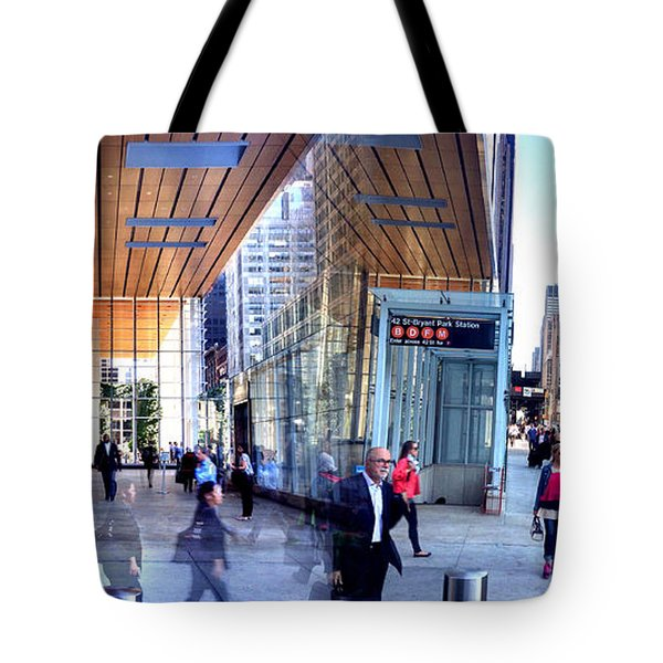 24 Hours of Work Tote Bag by Angelo Merluccio