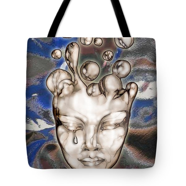 24x36 Misery 220 Tote Bag by Dia T