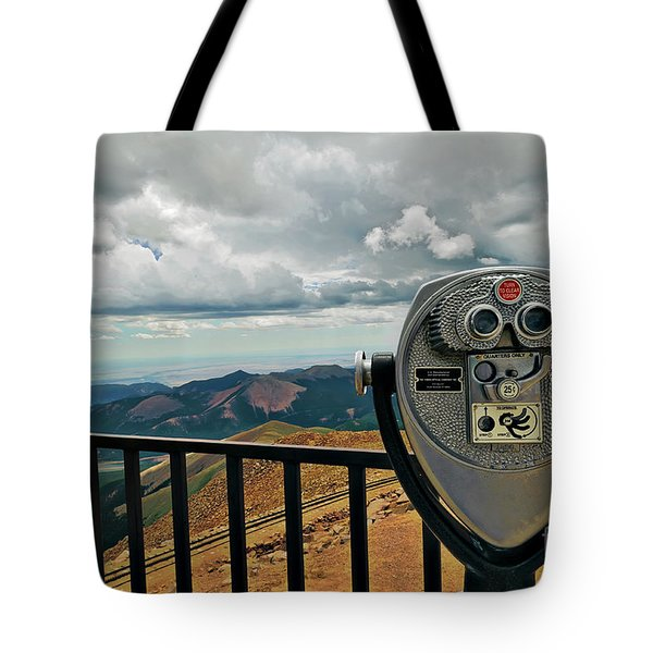 25 Cent Views Tote Bag by Charles Dobbs