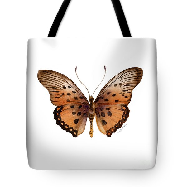 26 Trimans Butterfly Tote Bag by Amy Kirkpatrick