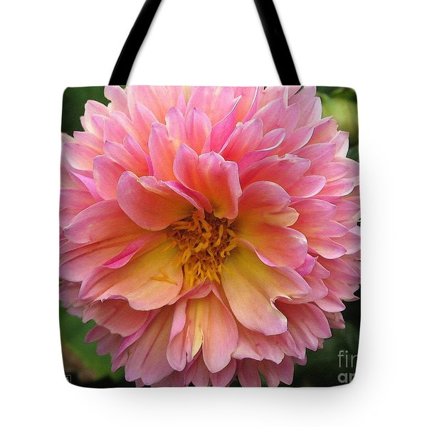 Dahlia From The Showpiece Mix Tote Bag by J McCombie