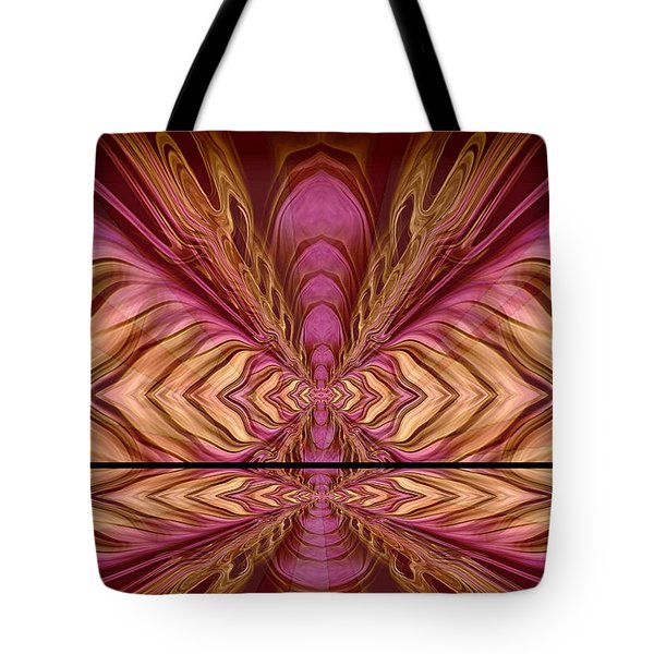 Abstract 74 Tote Bag by J D Owen