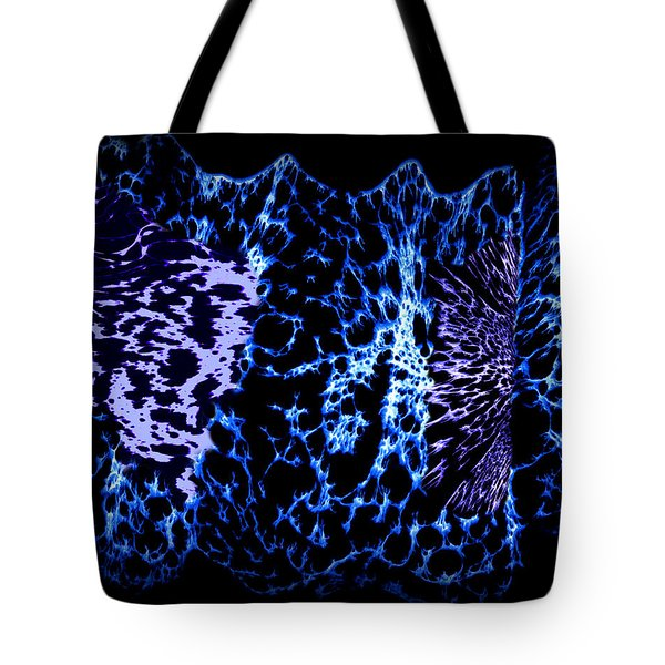 Abstract 80 Tote Bag by J D Owen