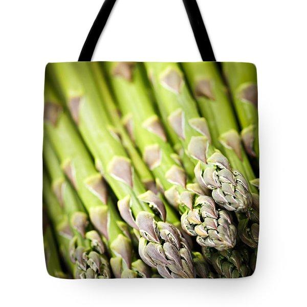 Asparagus Tote Bag by Elena Elisseeva