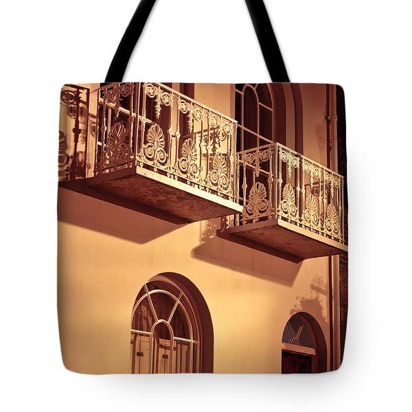 Balconies Tote Bag by Tom Gowanlock