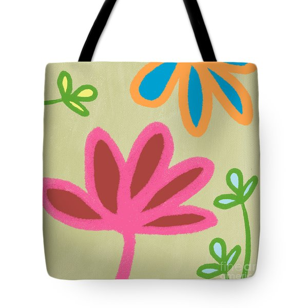 Bali Garden Tote Bag by Linda Woods