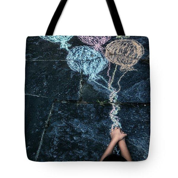 balloons Tote Bag by Joana Kruse