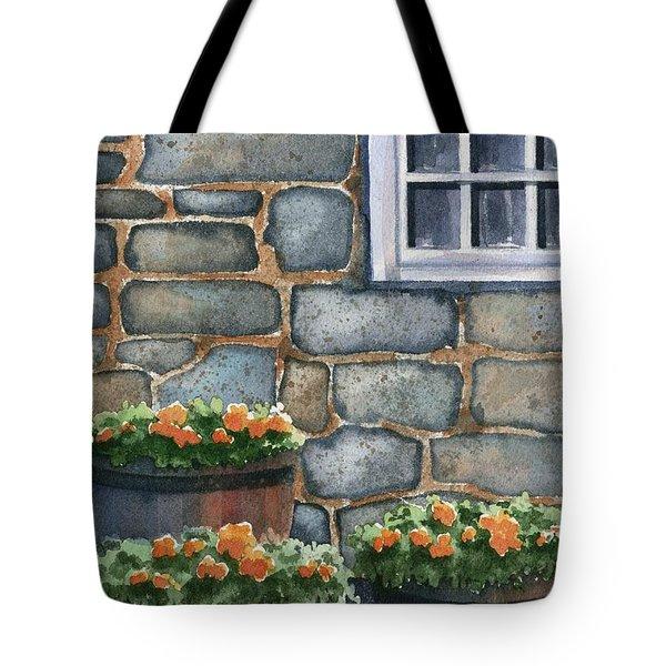 3 Barrels Tote Bag by Marsha Elliott
